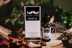 Private Stache | Beard Oil ~ Eagles Breath