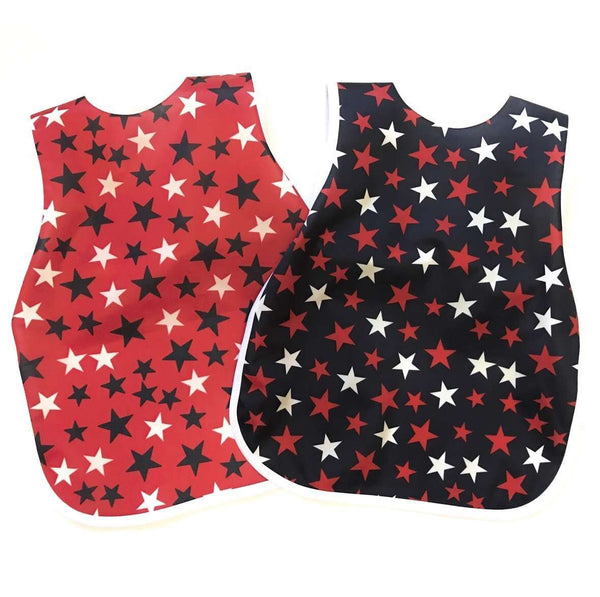 Bapron Baby | Red, White, and Blue Stars 6M-3T