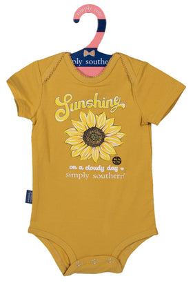 Simply Southern | Baby Crawler ~ Sunshine On A Cloudy Day