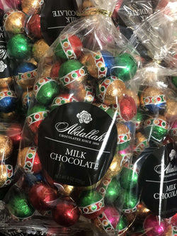 Abdallah Chocolate | Holiday Selection ~ Milk Chocolate Christmas Balls