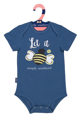 Simply Southern | Baby Crawler ~ Let It Bee