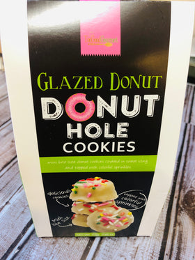 Too Good Gourmet | Donut Hole Cookies ~ Glazed Donut