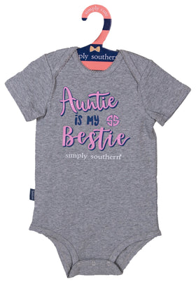 Simply Southern | Baby Crawler ~ Auntie Is My Bestie