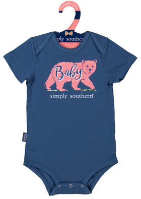 Simply Southern | Baby Crawler ~ Baby Bear