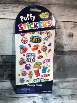 Peaceable Kingdom | Puffy Stickers ~ Candy Shop