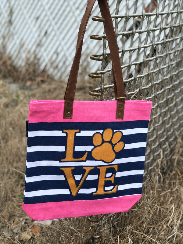 Simply Southern | Tote Bag ~ Pup Love