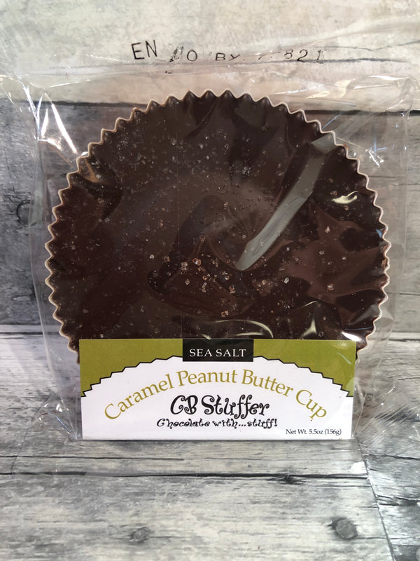 CB Stuffer - Salted Dark Chocolate Caramel Peanut Butter Cup