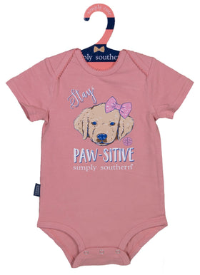 Simply Southern | Baby Crawler ~ Stay Paw-Sitive