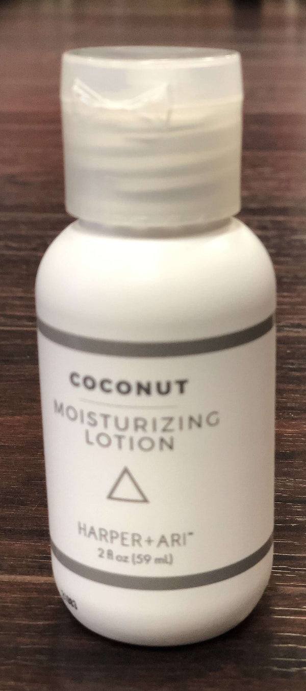 Harper + Ari | Moisturizing Lotion Flip Top Bottle 2 oz ~ Coconut