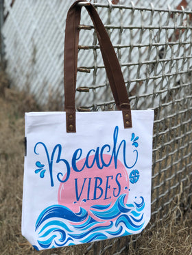 Simply Southern | Tote Bag ~ Beach Vibes