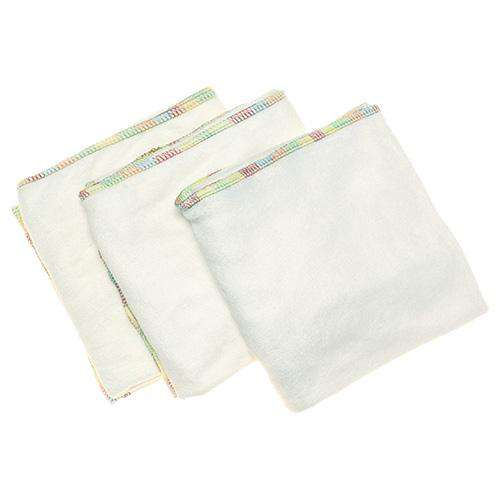 Imagine Stretchy Bamboo Flat Diapers - 3-Pack