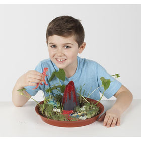 Creativity For Kids | Grow N' Glow Dinosaur Habitat