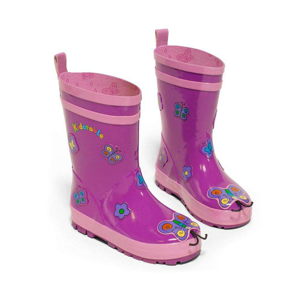 Kidorable Rain boots | Butterfly *final sale*