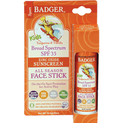 Badger Healthy Body Care ~ Kids Sport Sunscreen Stick SPF 35