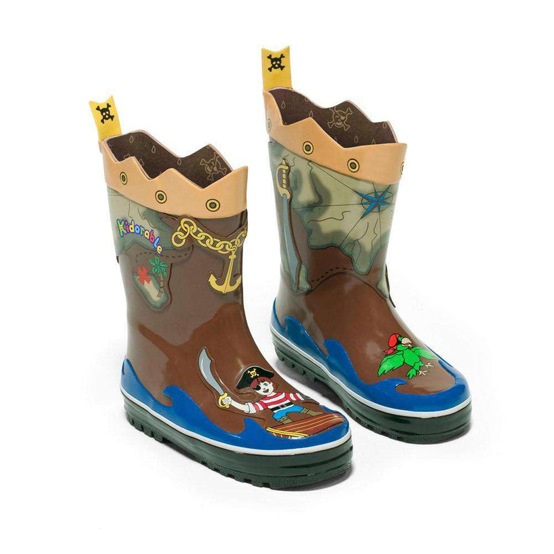 Kidorable Rain boots | Pirate *final sale*