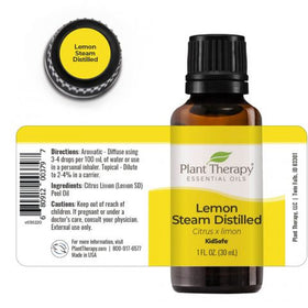 Plant Therapy -  Lemon Steam Distilled Essential Oil