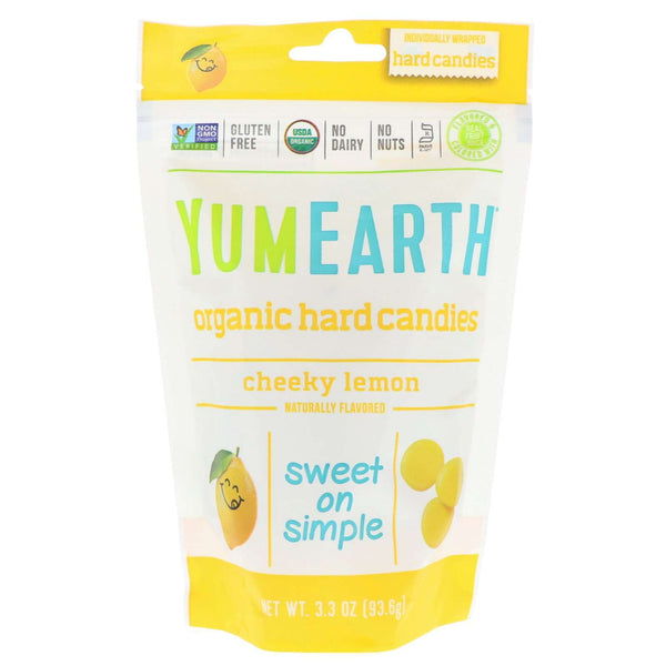 YumEarth | Organic Hard Candies ~ Cheeky Lemon