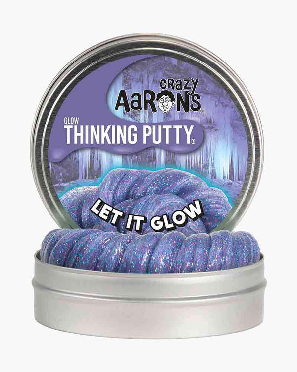 Crazy Aaron's Thinking Putty Limited Editon | Glow ~ Let It Glow
