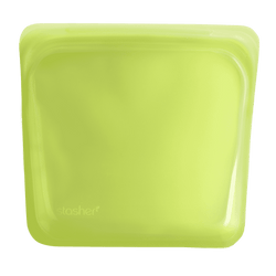Stasher Sandwich Bag | Lime