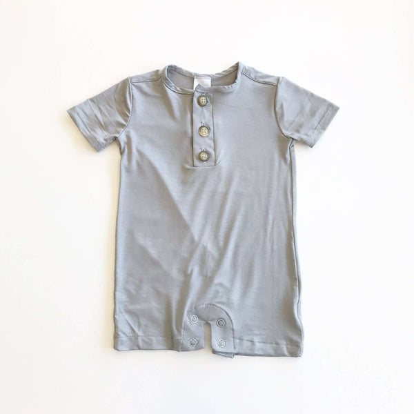 Little Mister | Baby & Toddler Romper ~ Sage Green