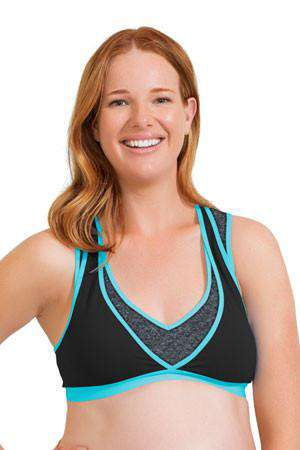 Cake Lingerie | Lotus Yoga & Pump Bra Teal *final sale*