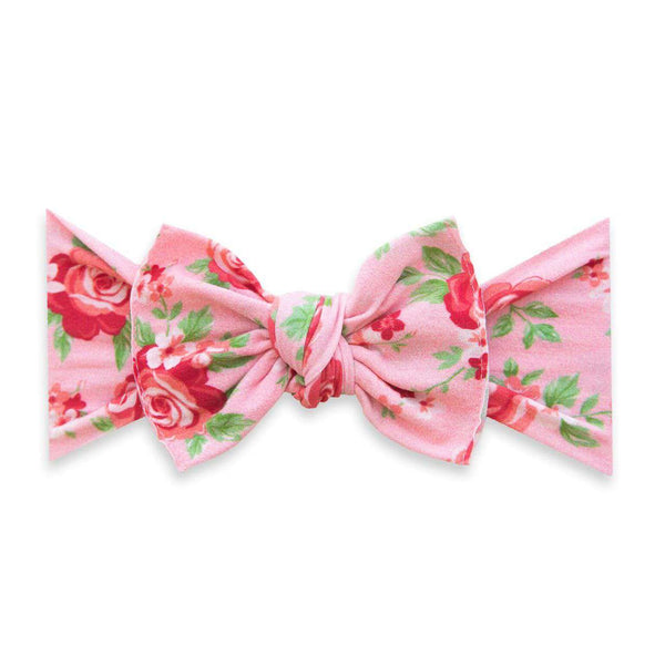 Baby Bling Bows | Printed Knot Headband ~ Love Bouquet