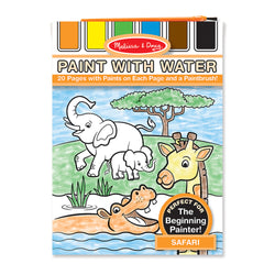 Melissa & Doug | Paint With Water ~ Safari