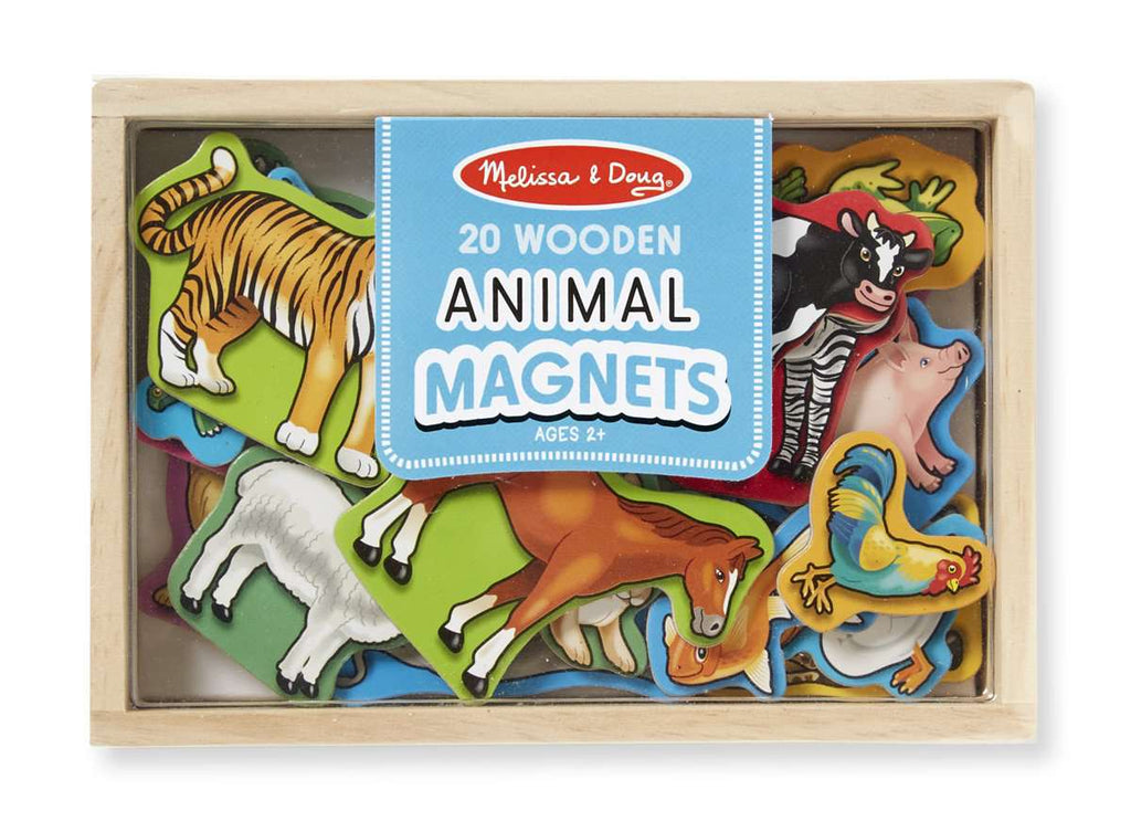 Melissa & Doug | Wooden Animal Magnet