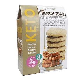 Too Good Gourmet | Keto Cookies ~ French Toast With Maple Syrup