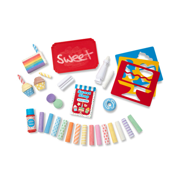 Melissa + Doug | Sweet Shop Chalk Set