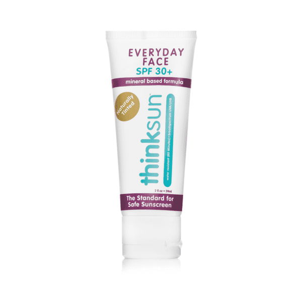 Thinksun Every Day Face Sunscreen | (2oz) ~ Naturally Tinted
