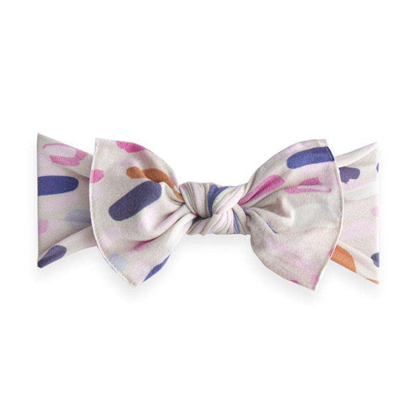 Baby Bling Bows | Printed Knot Headband ~ Paintbrush