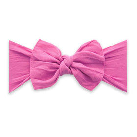 Baby Bling Bows | Classic Knot Headband ~ Hot Pink