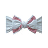 Baby Bling Bows | Printed Knot Headband ~ Ball Game