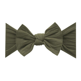 Baby Bling Bows | Classic Knot Headband ~ Army Green