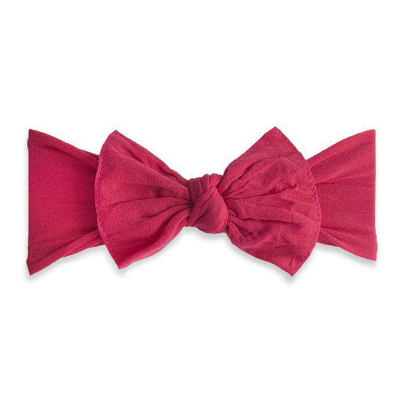 Baby Bling Bows | Classic Knot Headband ~ Cranberry