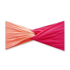 Baby Bling Bows | Twist ~ Neon Coral / Neon Pink