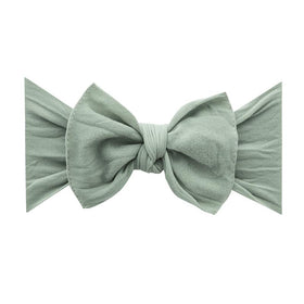 Baby Bling Bows | Classic Knot Headband ~ Sage