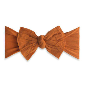 Baby Bling Bows | Classic Knot Headband ~ Pumpkin