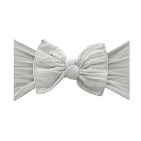 Baby Bling Bows | Classic Knot Headband ~ Grey