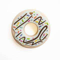 Loulou Lollipop | Mint Donut Silicone Teether