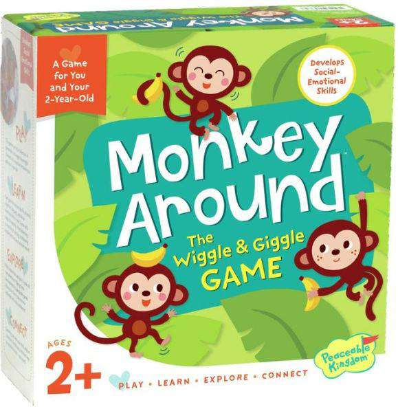 Peaceable Kingdom | Board Games ~ Monkey Around