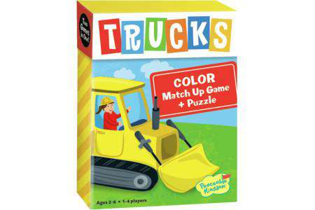 Peaceable Kingdom | Match Up Games & Puzzles ~ Trucks