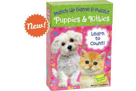 Peaceable Kingdom | Match Up Games | Puppies & Kitties