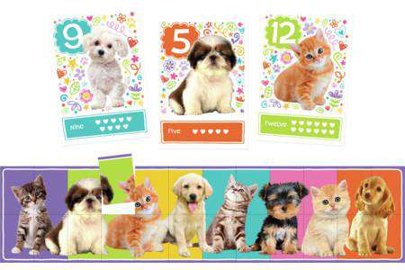 Peaceable Kingdom | Match Up Games ~ Puppies & Kitties
