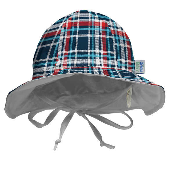 My Swim Baby Hat | Coastal Plaid