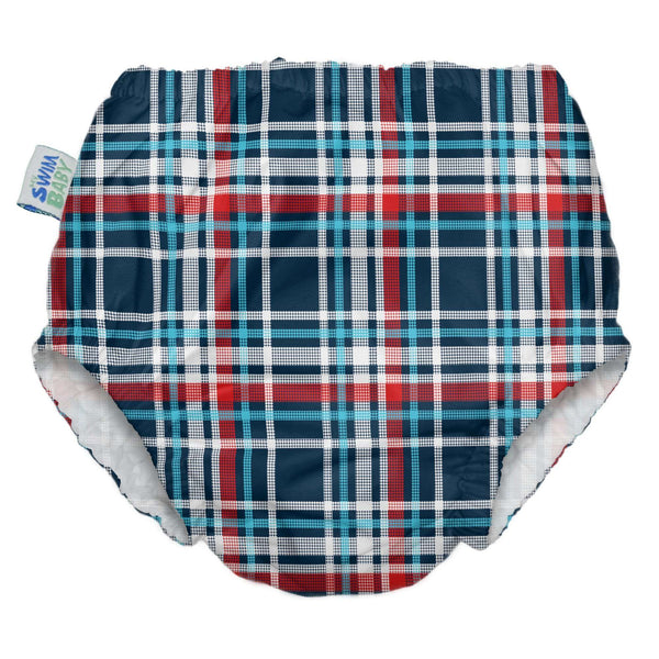My Swim Baby Diaper | Coastal Plaid