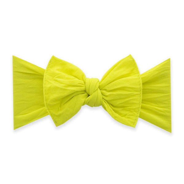 Baby Bling Bows | Classic Knot Headband ~ Neon Yellow