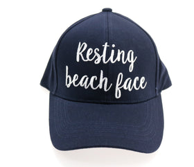 CC Beanie | Resting Beach Face Ball Cap