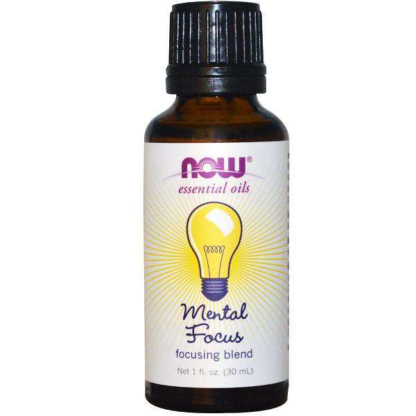 Now Solutions Essential Oil Blend | Mental Focus